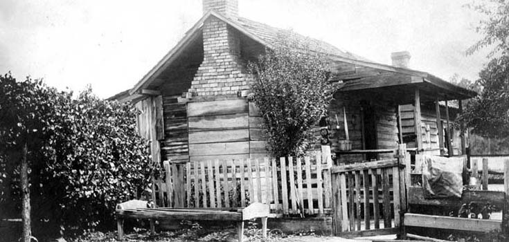 Lumbee home photo