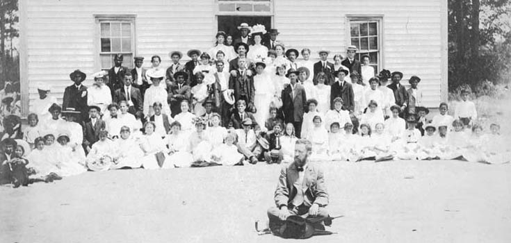 Croatoan Normal School, 1910